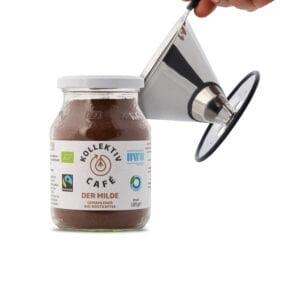 Zero Waste Set, Fairtrade Bio Kaffee Mild und Edelstahl Kaffeefilter